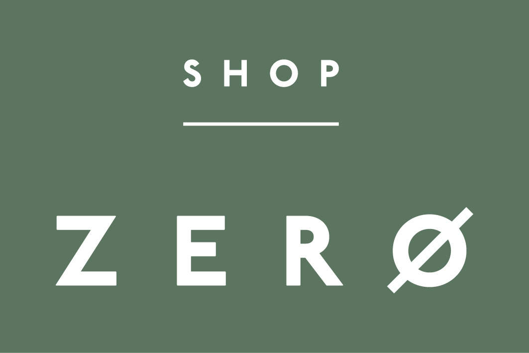 Shop Zero Logo Green White